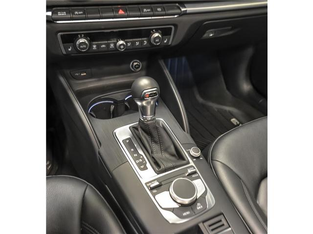 2018 Audi A3 2.0T Progressiv (Stk: C6418) in Woodbridge - Image 12 of 14