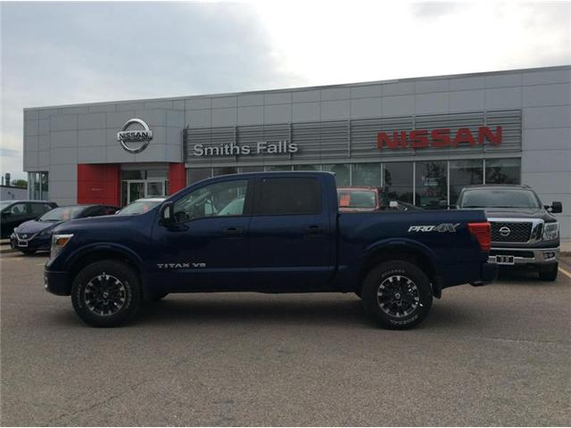 2018 Nissan Titan PRO-4X (Stk: 18-218) in Smiths Falls - Image 1 of 12