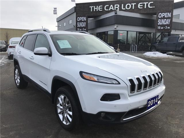 2014 Jeep Cherokee Limited (Stk: 18699) in Sudbury - Image 1 of 15