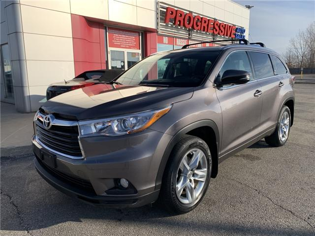 2015 Toyota Highlander Limited (Stk: FS143430) in Sarnia - Image 1 of 27