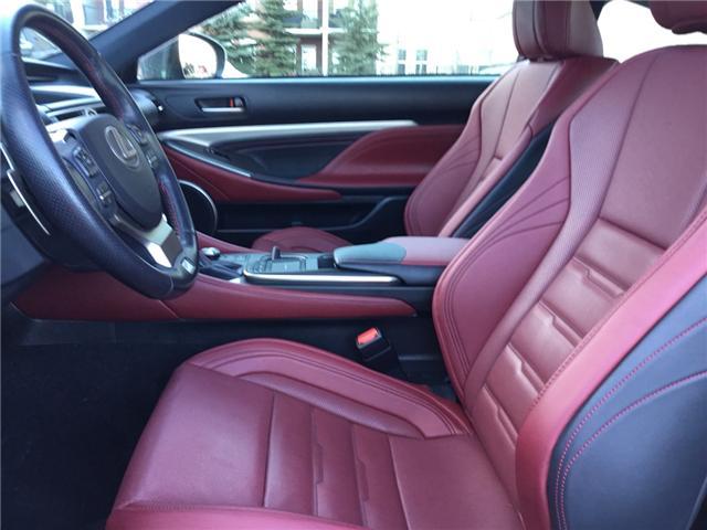 2016 Lexus RC 350 Base (Stk: K7730) in Calgary - Image 9 of 22