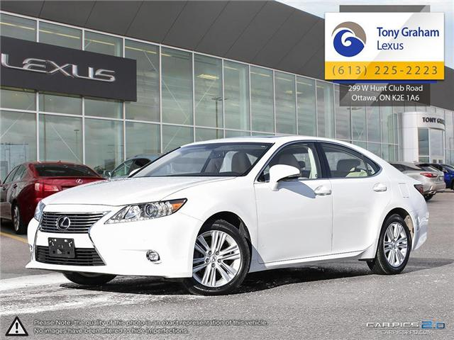 2015 Lexus ES 350 Base (Stk: P8308A) in Ottawa - Image 1 of 28