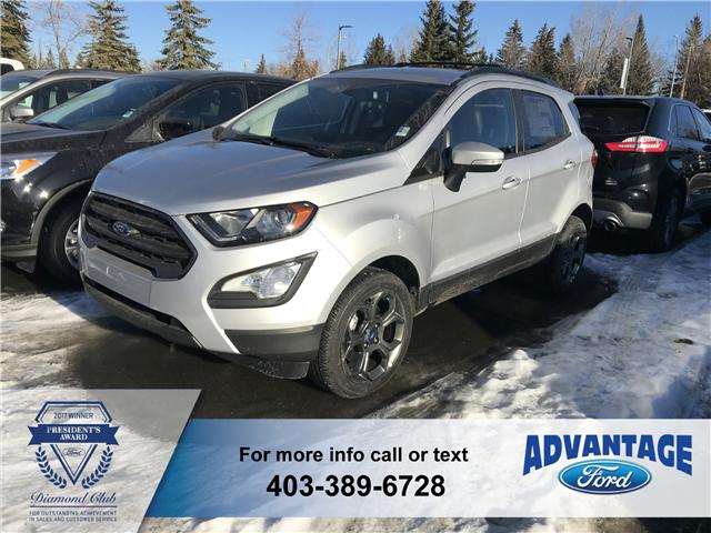 2018 Ford EcoSport SES (Stk: J-1541) in Calgary - Image 1 of 6