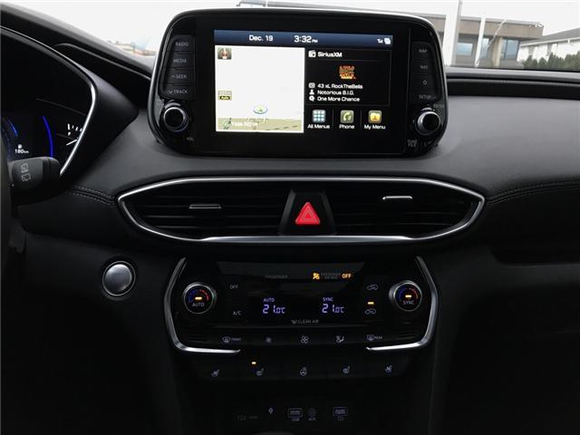2019 Hyundai Santa Fe Ultimate 2.0 (Stk: H99-9499) in Chilliwack - Image 11 of 13