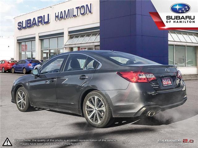 2018 Subaru Legacy 2.5i Limited w/EyeSight Package (Stk: U1395) in Hamilton - Image 4 of 26