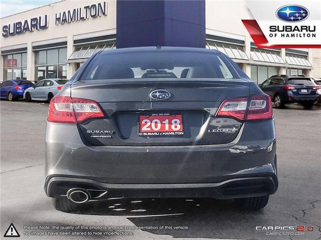 2018 Subaru Legacy 2.5i Limited w/EyeSight Package (Stk: U1395) in Hamilton - Image 5 of 26