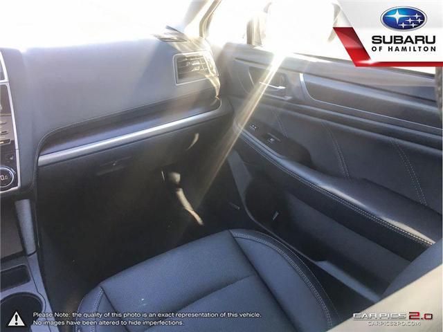 2018 Subaru Legacy 2.5i Limited w/EyeSight Package (Stk: U1395) in Hamilton - Image 19 of 26