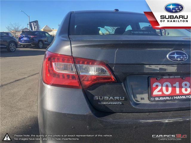 2018 Subaru Legacy 2.5i Limited w/EyeSight Package (Stk: U1395) in Hamilton - Image 25 of 26
