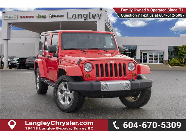 2013 Jeep Wrangler Unlimited Sahara (Stk: J273622A) in Surrey - Image 1 of 26