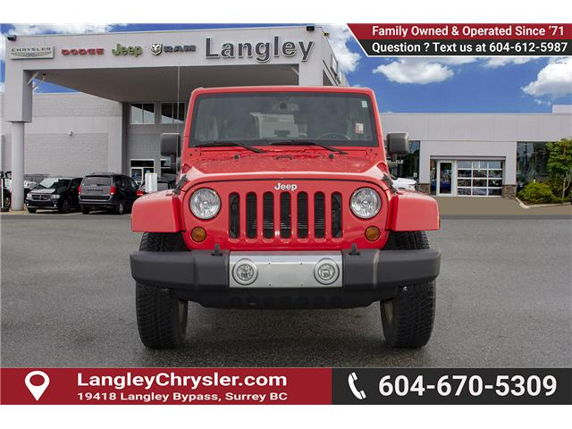 2013 Jeep Wrangler Unlimited Sahara (Stk: J273622A) in Surrey - Image 2 of 26