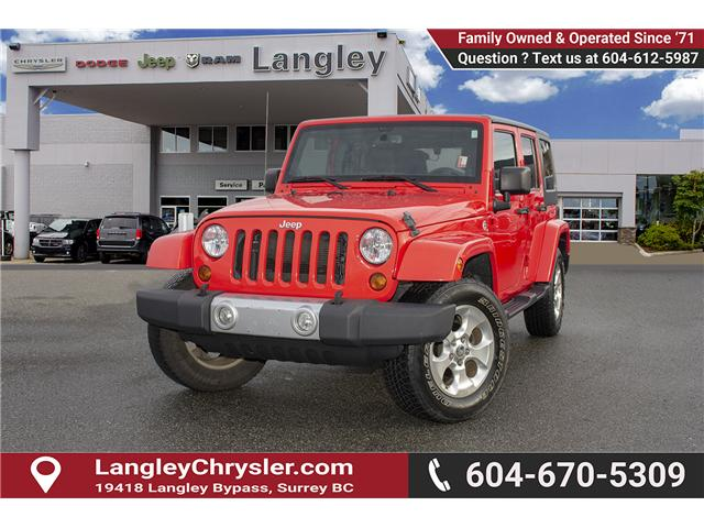 2013 Jeep Wrangler Unlimited Sahara (Stk: J273622A) in Surrey - Image 3 of 26