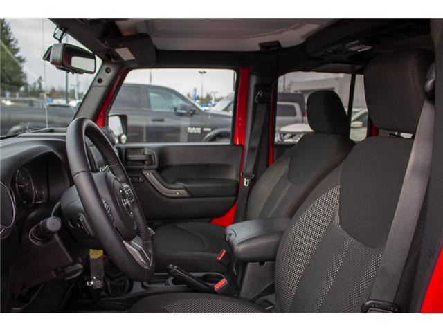 2016 Jeep Wrangler Unlimited Sport (Stk: EE900120) in Surrey - Image 9 of 25