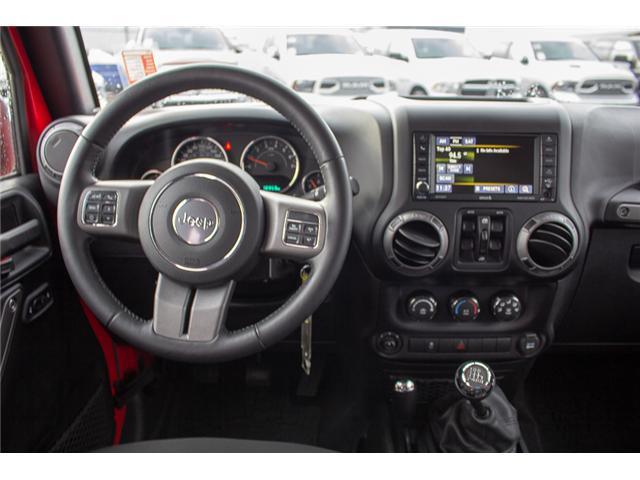 2016 Jeep Wrangler Unlimited Sport (Stk: EE900120) in Surrey - Image 12 of 25