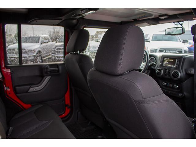 2016 Jeep Wrangler Unlimited Sport (Stk: EE900120) in Surrey - Image 14 of 25