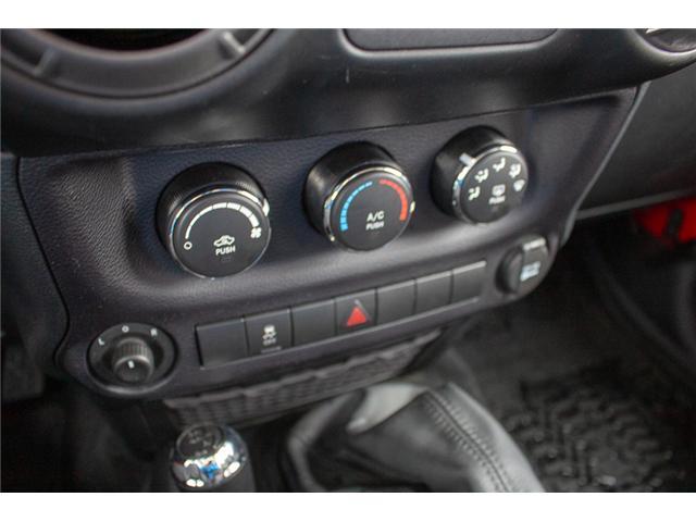 2016 Jeep Wrangler Unlimited Sport (Stk: EE900120) in Surrey - Image 21 of 25