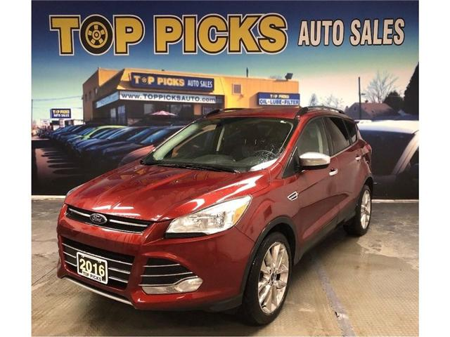2016 Ford Escape SE (Stk: A57168) in NORTH BAY - Image 1 of 25