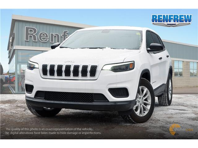 2019 Jeep Cherokee Sport (Stk: K014) in Renfrew - Image 1 of 20