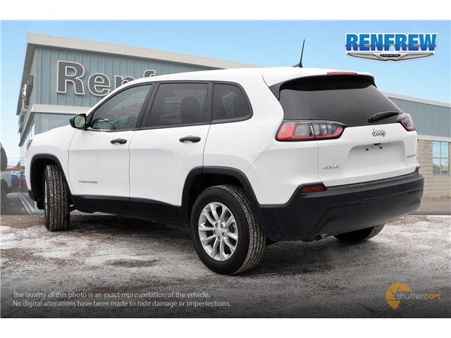 2019 Jeep Cherokee Sport (Stk: K014) in Renfrew - Image 4 of 20