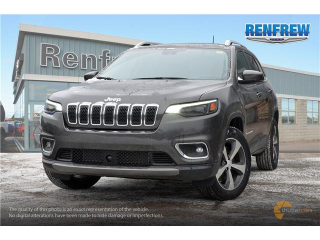 2019 Jeep Cherokee Limited (Stk: K036) in Renfrew - Image 1 of 20