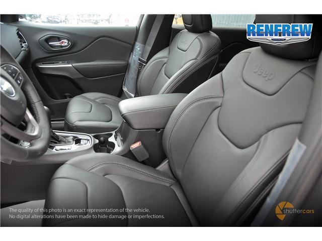 2019 Jeep Cherokee Limited (Stk: K036) in Renfrew - Image 10 of 20