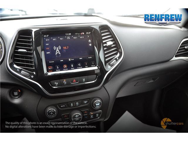 2019 Jeep Cherokee Limited (Stk: K036) in Renfrew - Image 13 of 20