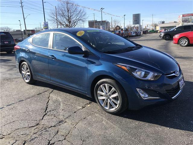 2015 Hyundai Elantra Sport Appearance (Stk: 44646A) in Windsor - Image 1 of 12