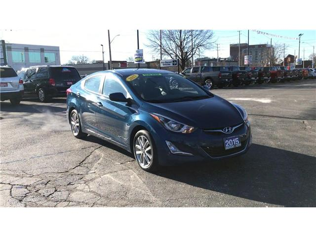 2015 Hyundai Elantra Sport Appearance (Stk: 44646A) in Windsor - Image 2 of 12