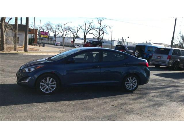 2015 Hyundai Elantra Sport Appearance (Stk: 44646A) in Windsor - Image 4 of 12