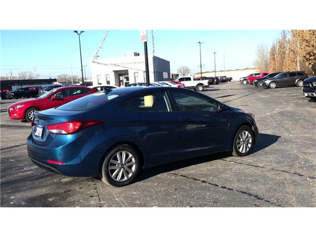 2015 Hyundai Elantra Sport Appearance (Stk: 44646A) in Windsor - Image 8 of 12