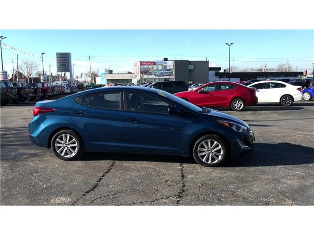 2015 Hyundai Elantra Sport Appearance (Stk: 44646A) in Windsor - Image 9 of 12