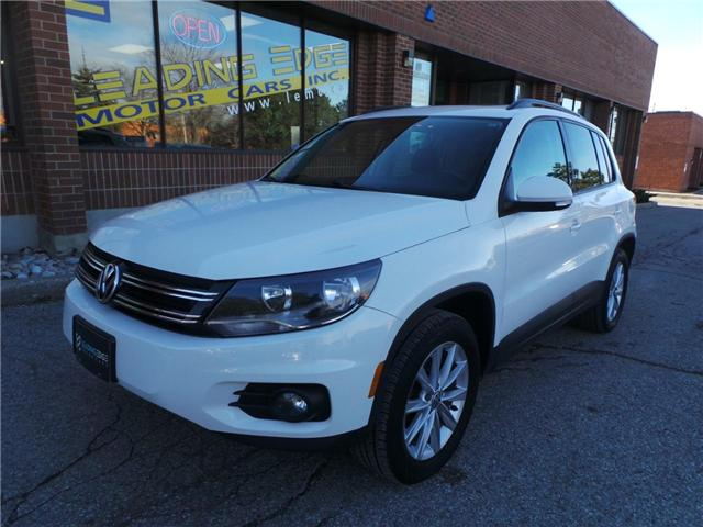 2013 Volkswagen Tiguan 2.0 TSI Comfortline (Stk: 11774) in Woodbridge - Image 1 of 14