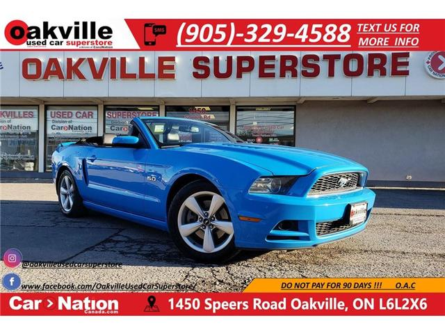 2013 Ford Mustang GT | MANUAL | LOADED | NAVI | B/U CAM (Stk: P11690) in Oakville - Image 1 of 29