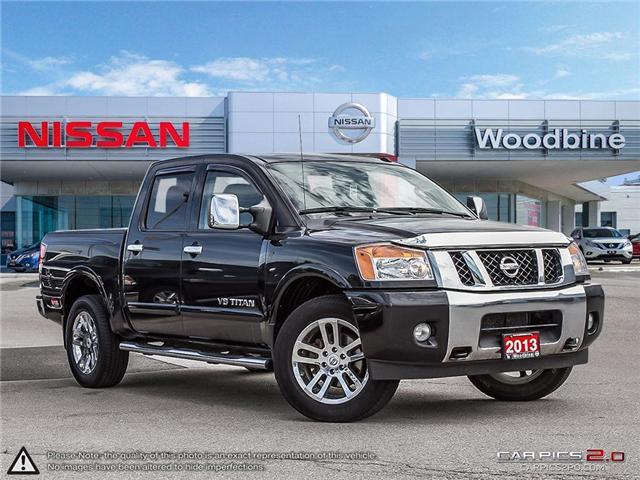 2013 Nissan Titan SL (Stk: TK4-18A) in Etobicoke - Image 1 of 25
