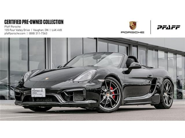 2015 Porsche Boxster GTS PDK (Stk: P12656A) in Vaughan - Image 1 of 15