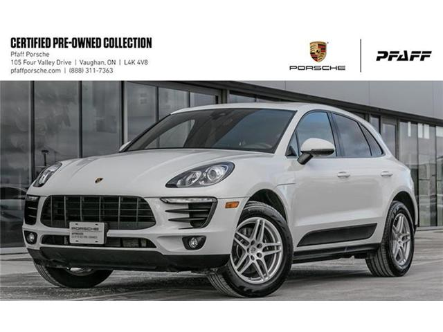 2017 Porsche Macan  (Stk: U7496) in Vaughan - Image 1 of 17