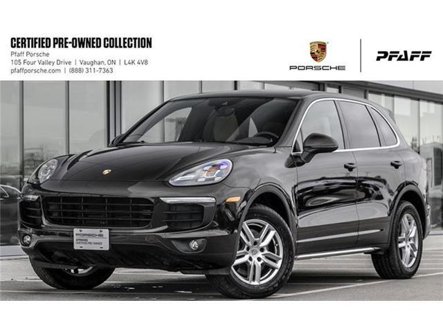 2016 Porsche Cayenne w/ Tip (Stk: U7522) in Vaughan - Image 1 of 20