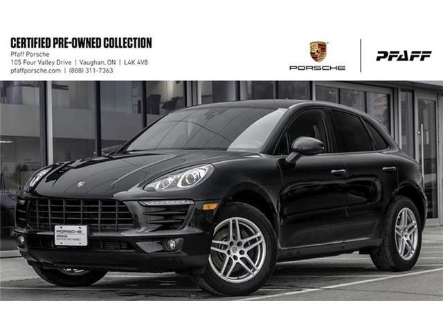 2017 Porsche Macan  (Stk: U7561) in Vaughan - Image 1 of 18