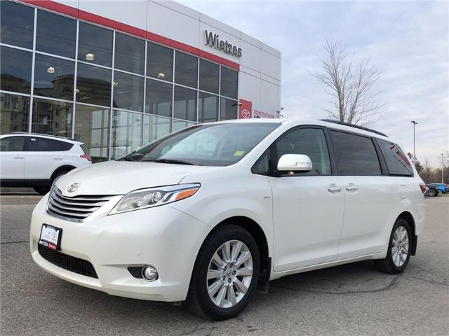 2016 Toyota Sienna XLE (Stk: U2235) in Vaughan - Image 1 of 24