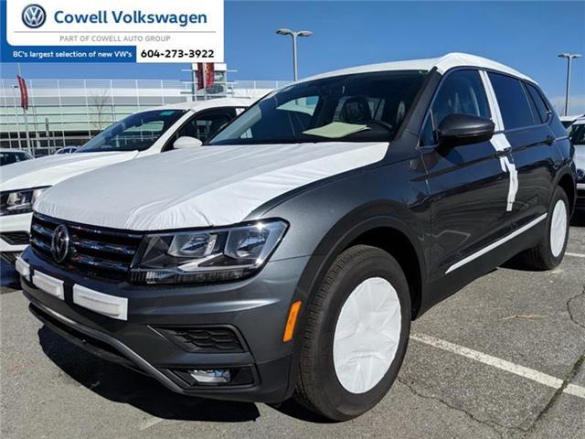 2018 Volkswagen Tiguan Comfortline (Stk: VWMU0955) in Richmond - Image 1 of 2