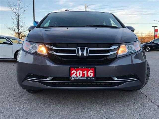2016 Honda Odyssey EX (Stk: 190281P) in Richmond Hill - Image 2 of 22