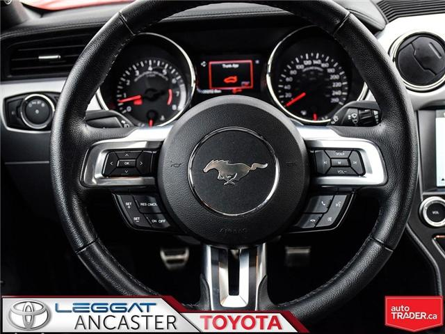 2016 Ford Mustang GT Premium (Stk: 19098A) in Ancaster - Image 19 of 22