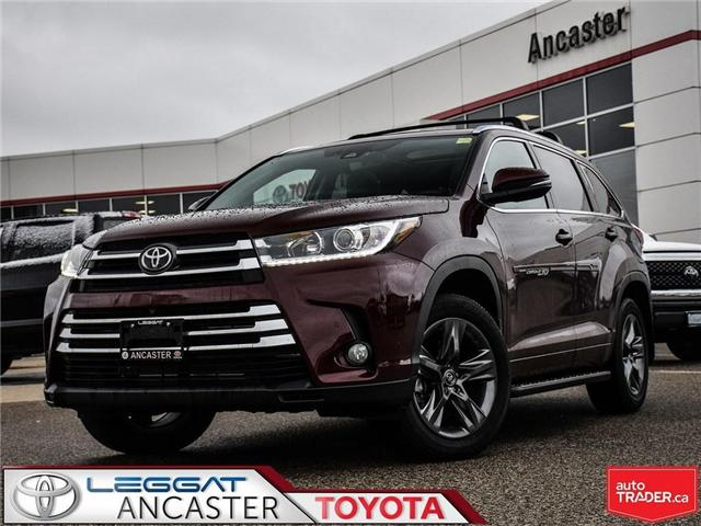 2018 Toyota Highlander  (Stk: 3758) in Ancaster - Image 1 of 27