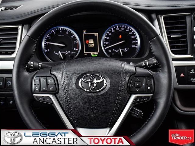 2018 Toyota Highlander  (Stk: 3758) in Ancaster - Image 17 of 27
