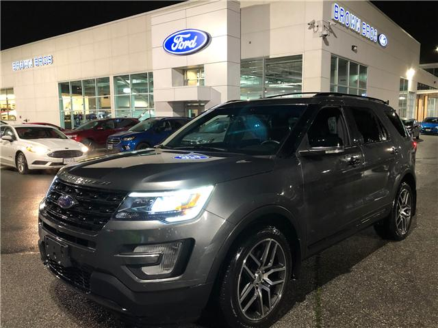 2017 Ford Explorer Sport (Stk: LP18400) in Vancouver - Image 1 of 24