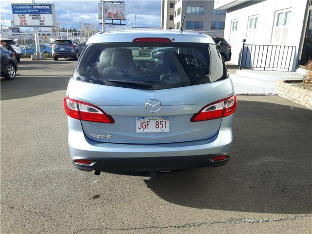 2013 Mazda Mazda5 GS (Stk: R37) in Fredericton - Image 7 of 11