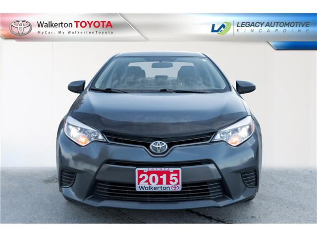 2015 Toyota Corolla LE (Stk: P8214) in Walkerton - Image 2 of 14