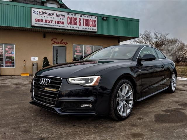 2015 Audi A5 2.0T Komfort (Stk: ) in Bolton - Image 1 of 25