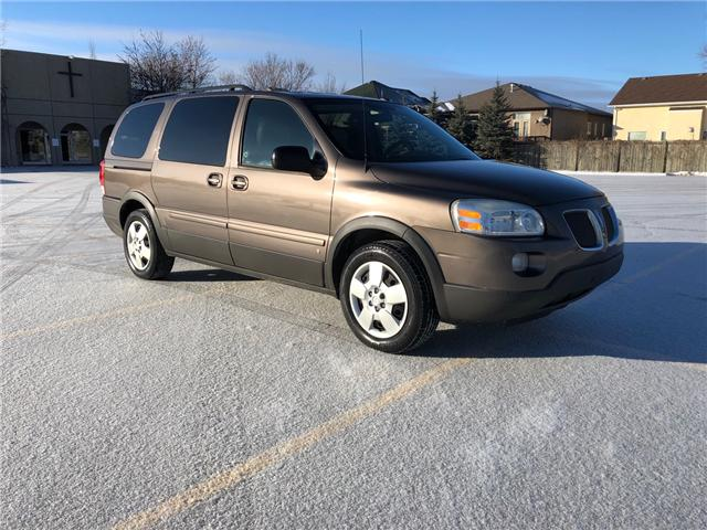 2009 Pontiac Montana SV6 FWD (Stk: 9811.0) in Winnipeg - Image 1 of 23