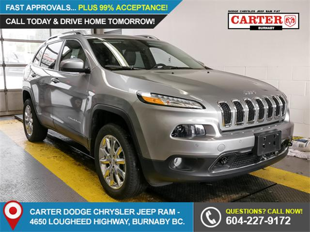2015 Jeep Cherokee Limited (Stk: 9-6030-0) in Burnaby - Image 1 of 23