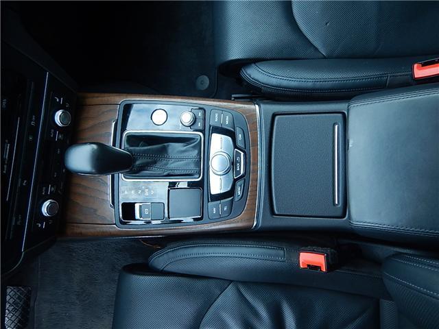 2016 Audi A6 3.0T Technik (Stk: VW0771) in Surrey - Image 11 of 24